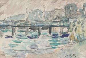Jan Cybis (1897 Wróblin - 1972 Warszawa), Orłowo, 1971 r.