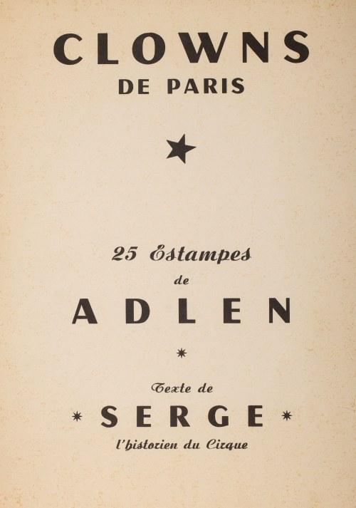 Michel Adlen (1898 Łuck – 1980 Paryż), Clowns de Paris, 1959 r.