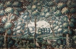 Tapiseria,Flandria, 1 połowa XVIII w.