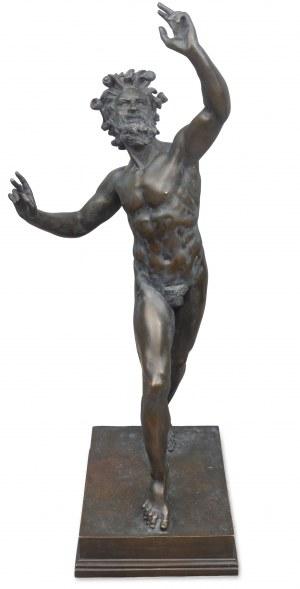Tańczący faun, koniec XIX w.