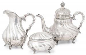 Zestaw kawowy, Prusy, XIX w.