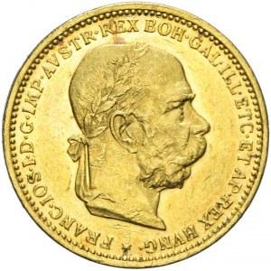 Austria, Franciszek Józef, 20 koron 1893, Wiedeń