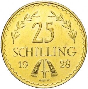 Austria, Republika, 25 szylingów 1928