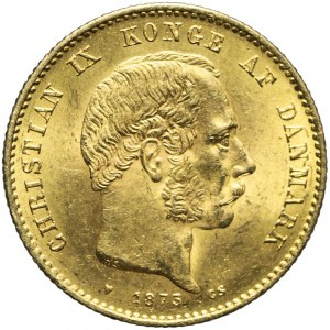 Dania, 20 Koron 1873, Christian IX