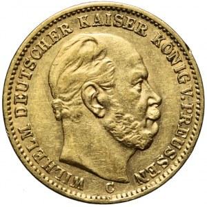 Niemcy, Prusy, 20 marek 1873 C, Wilhelm I, Frankfurt