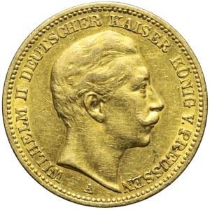 Niemcy, Prusy, 20 marek 1889 A, Wilhelm II, Berlin