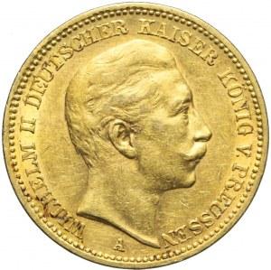 Niemcy, Prusy, 20 marek 1901 A, Wilhelm II, Berlin