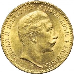 Niemcy, Prusy, 20 marek 1912 J, Wilhelm II, Hamburg
