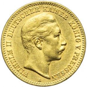 Niemcy, Prusy, 10 marek 1898 A, Wilhelm II, Berlin