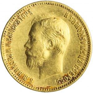 Rosja, Mikołaj II, 10 rubli 1904, Petersburg