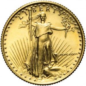 Stany Zjednoczone Ameryki (USA), 10 dolarów 1986, złoto
