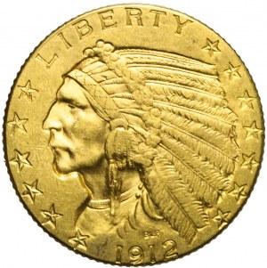 Stany Zjednoczone Ameryki (USA), 5 dolarów, Indianin, 1912, Filadelfia