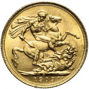 Australia, Edward VII, Suweren 1909, Sydney