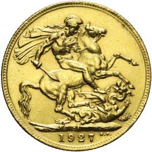 Republika Południowej Afryki, Jerzy V, Suweren 1927 SA, Pretoria
