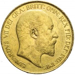 Wielka Brytania, 5 funtów 1902, Edward VII