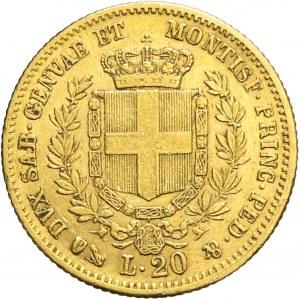 Włochy, Wiktor Emanuel, 20 lirów 1859