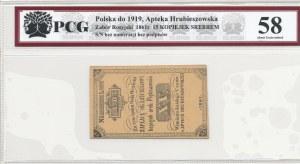 Hrubieszów, Apteka Hrubieszowska, 15 kopiejek srebrem 1861