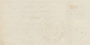 Powstanie Styczniowe, Obligacja tymczasowa 500 złotych 1863, podwójny numerator