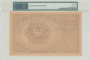 1.000 marek 1919, bez serii, BARDZO RZADKIE