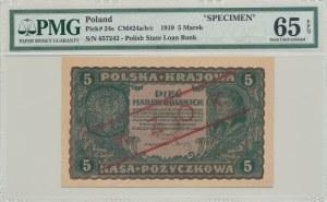 5 marek 1919, II Serja CX, WZÓR