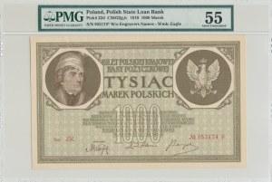 1.000 marek 1919, seria ZR.*
