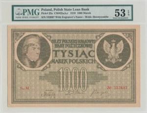 1.000 marek 1919, seria M