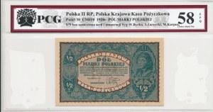 1/2 marki polskiej 1920