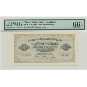 500.000 marek polskich 1923, ser. I