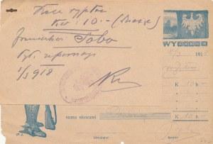 RR-, 10 koron 1918, Naczelny Komitet Narodowy Legionów we Lwowie