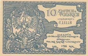Polski Skarb Wojskowy, 10 złotych = 1 rubel 50 kopiejek 1916, N14116