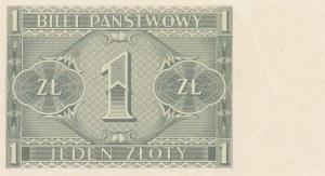 1 złoty 1938 (B. Chrobry), jednostronny