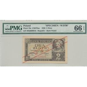 2 złote 1936, ser. BX, WZÓR