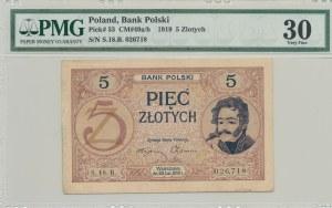 5 złotych 1919, S.18.B