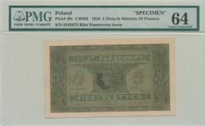 5 złotych 1926, ser. A, WZÓR