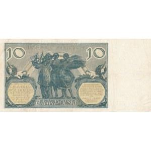 10 złotych 1926 - seria CJ