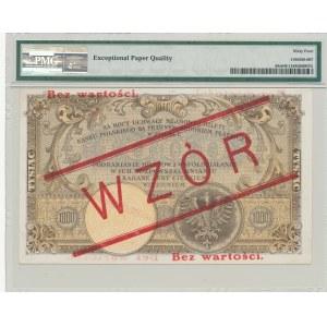 1.000 złotych 1919, WZÓR