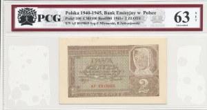 2 złote 1941 - ser. AF