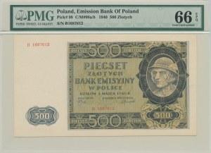 500 złotych 1940, ser B