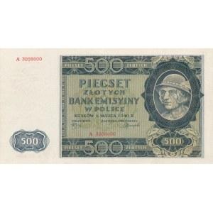 500 złotych 1940 - seria A