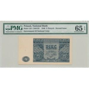 5 złotych 1946