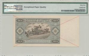 10 złotych 1948, SPECIMEN, D0000000, rzadki