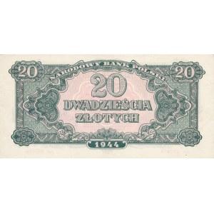 20 złotych 1944, ...owe - ser. An