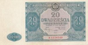20 złotych 1946 - ser. A