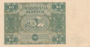 20 złotych 1947 - ser. B
