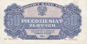 50 złotych 1944, ...owym - ser. TM