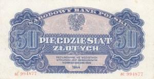 50 złotych 1944, ...owym - ser. AC
