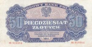 50 złotych 1944, ...owym - ser. PB