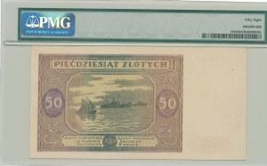 50 złotych 1946, ser. E, mała litera