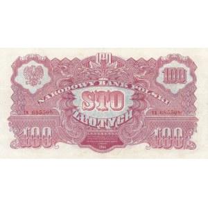 100 złotych 1944, ...owym - ser. CX