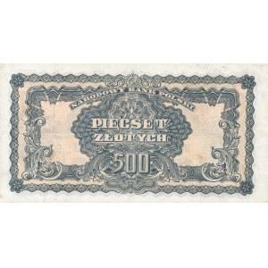 500 złotych 1944, ...owym - ser. AK